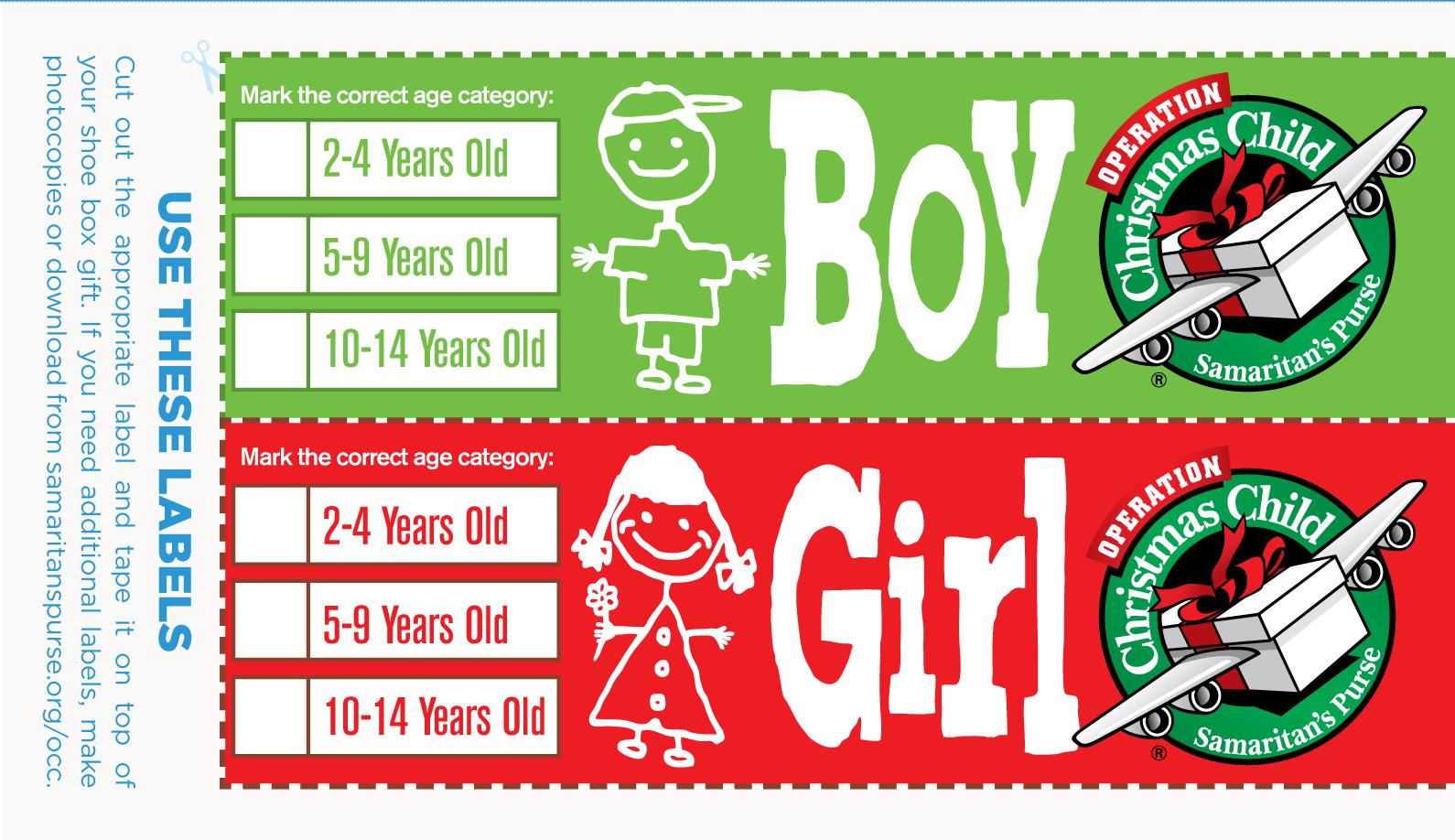 Operation Christmas Child 2019 Dates.Shoeboxes